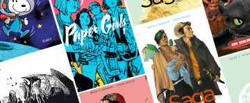 Sonderangebot - Cross Cult Peanuts, Saga, Dragons, Paper Girls, Sin City... ab 2,99€!