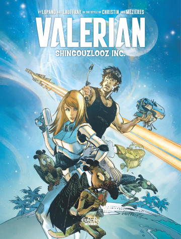 Valerian by - Mathieu Lauffray