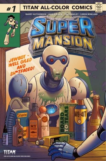 Supermansion - Barry Hutchinson