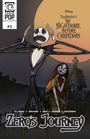 disney manga tim burtons the nightmare before christmas tim burton - Nightmare Before Christmas Disney