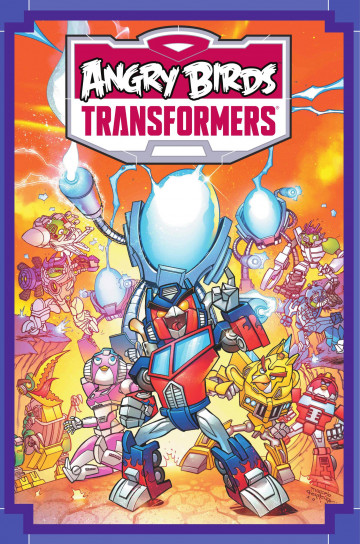 Angry Birds/Transformers: Age of Eggstinction - John Barber