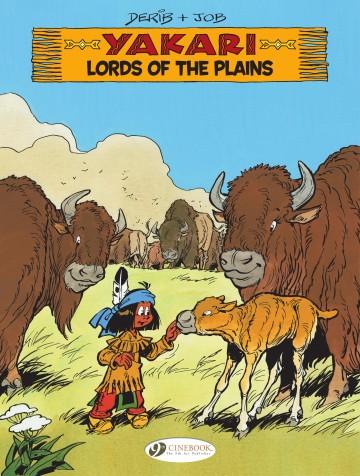 yakari v 14 lords of the plains european comicsto read online