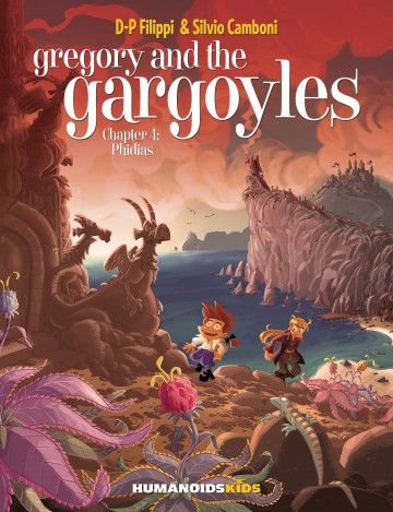 Gregory and the Gargoyles - Denis-Pierre Filippi