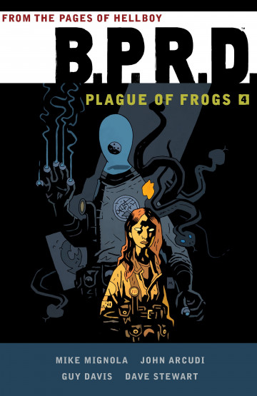B.P.R.D. Plague of Frogs - Mike Mignola