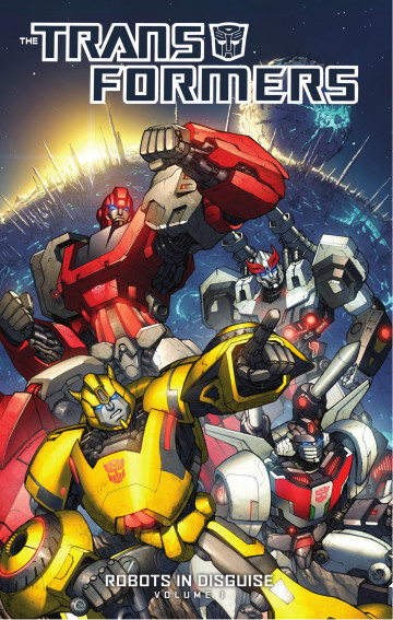 Transformers: Robots in Disguise - John Barber