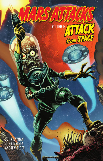 Mars Attacks - Judge Dredd - John Layman