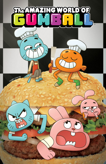 The Amazing World of Gumball - Frank Gibson