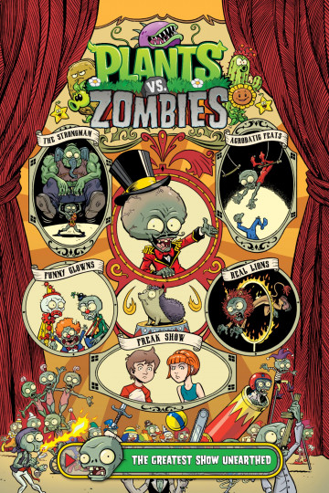 Plantz vs. Zombies - Paul Tobin