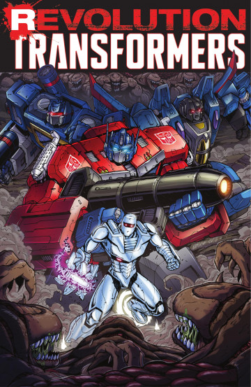 Revolution: Transformers - Mairghread Scott, James Roberts, John Barber, Nick Roche