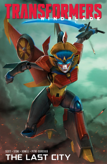 Transformers Windblade: The Last City - Mairghread Scott