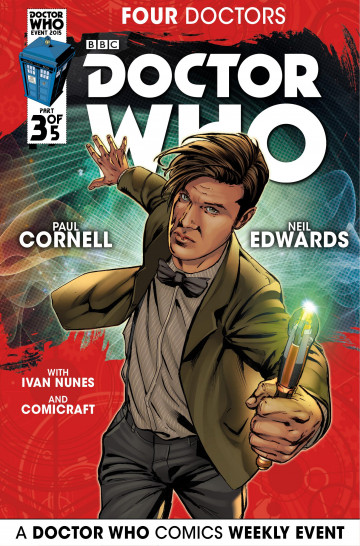 Doctor Who: 2015 Event: Four Doctors - Paul Cornell