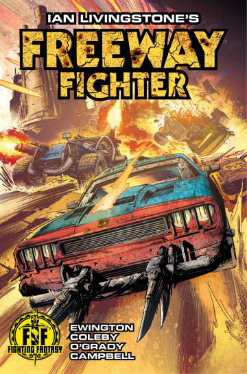 Freeway Fighter - Andi Ewington