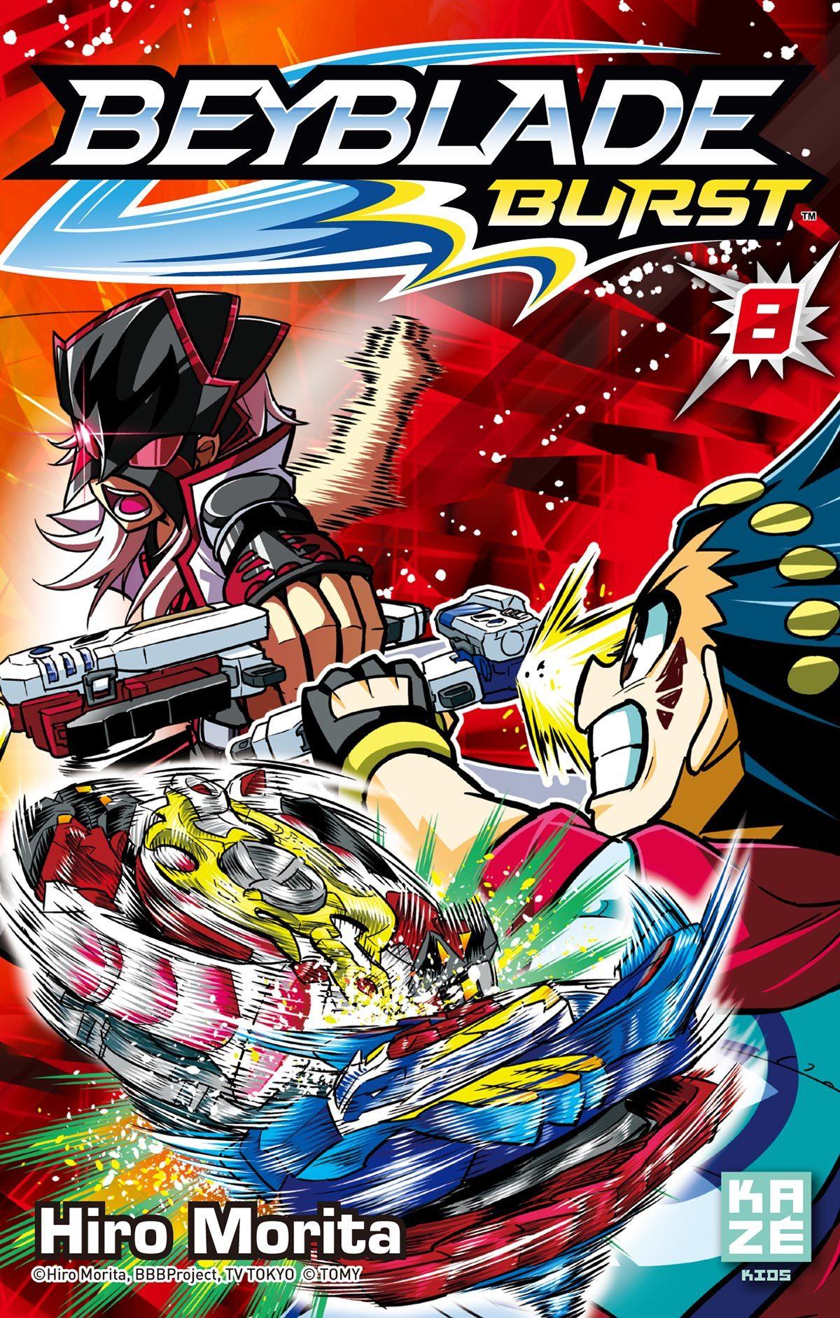 Beyblade Burst - The series Manga online