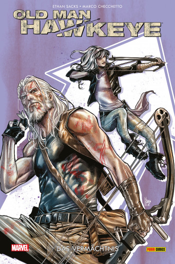 Old Man Hawkeye - Ethan Sacks