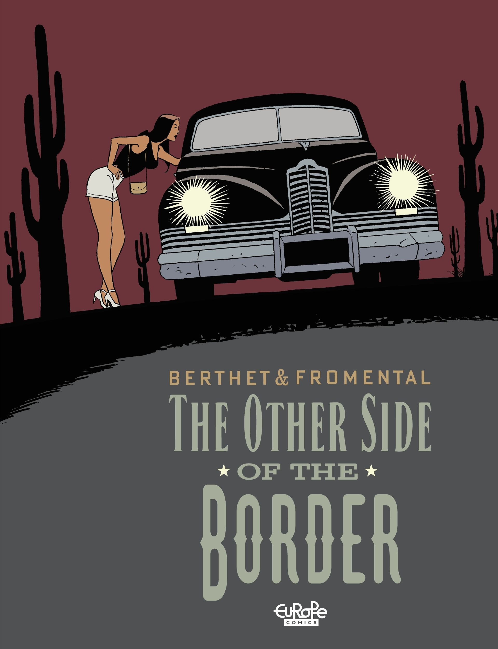 European-comics The Other Side of the Border