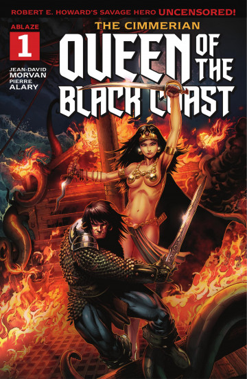 The Cimmerian - Queen of the Black Coast - Jean-David Morvan