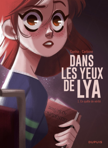 Dans les yeux de Lya - Cunha Justine