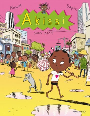 Akissi (Tome 6) - Sans amis - Tome 6   Marguerite Abouet