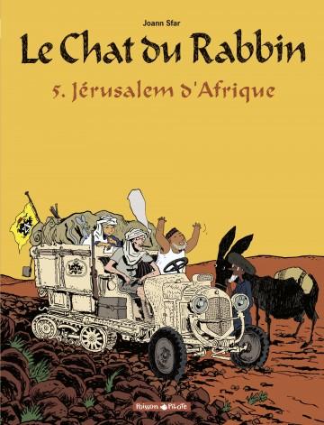 Jérusalem d'Afrique - Tome 5 | Joann Sfar