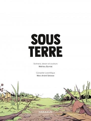 Sous Terre | Burniat Mathieu