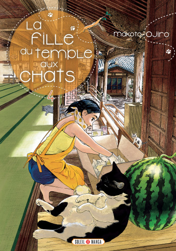La Fille du Temple aux Chats - Makoto Ojiro
