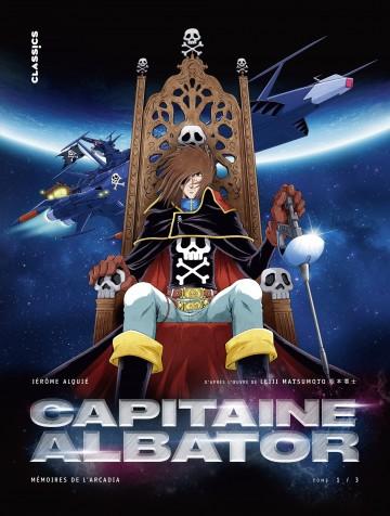 Capitaine Albator - Mémoires de l'Arcadia - Alquie Jérôme