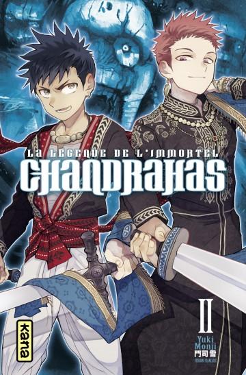 Chandrahas la légende de l'immortel - Yuki Monji