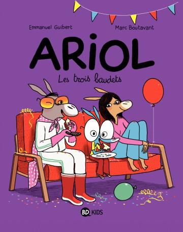 Ariol - Tome 8 : Les trois baudets - Tome 8 | Emmanuel Guibert