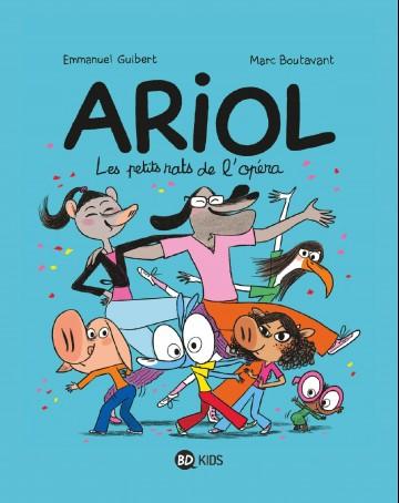 Ariol, Tome 10 : Les petits rats de l'opéra - Tome 10 | Marc Boutavant