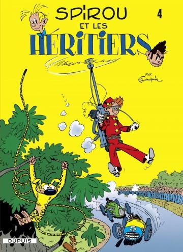 SPIROU ET LES HERITIERS - Tome 4 | Franquin