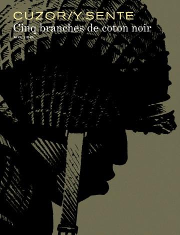 Cinq branches de coton noir | Steve Cuzor