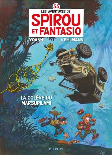 La colère du Marsupilami (Edition Anniversaire IZNEO) - Tome 55 | Fabien Vehlmann