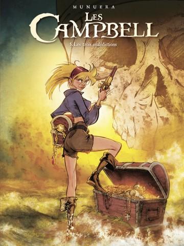 Les Campbell - tome 5 - Les trois malédictions - Tome 5 | Munuera Jose Luis