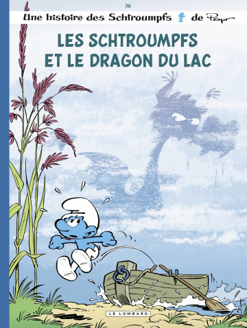 Les Schtroumpfs Lombard - tome 36 - Les Schtroumpfs et le dragon du lac - Tome 36 | DIAZ Miguel