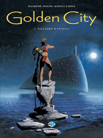 Golden City - Daniel Pecqueur