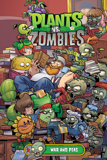 Plants vs. Zombies Plants vs. Zombies Volume 11: War and Peas