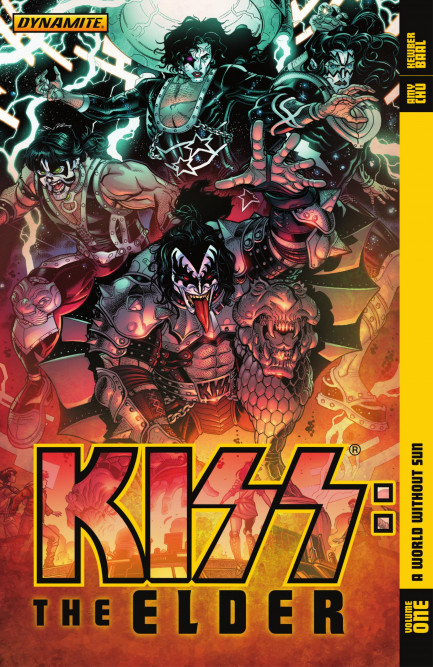 KISS KISS: The Elder Vol. 1: A World Without Sin
