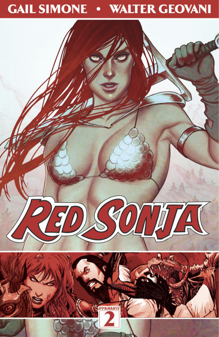 Red Sonja Red Sonja Vol. 2: The Art of Blood and Fire