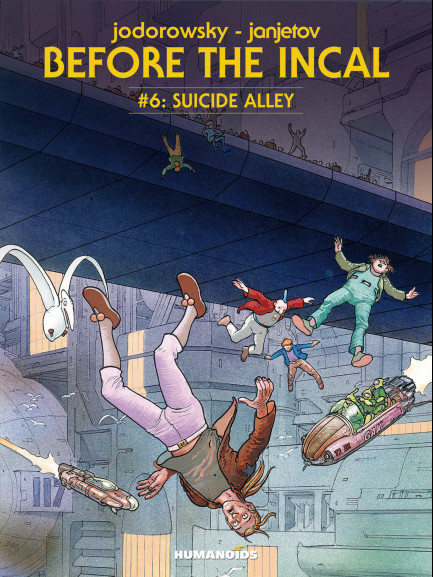 Before The Incal Suicide Alley