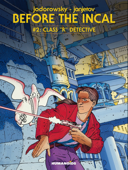 "Before The Incal Class ""R"" Detective"