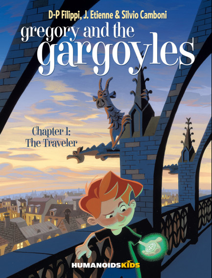 Gregory and the Gargoyles The Traveler