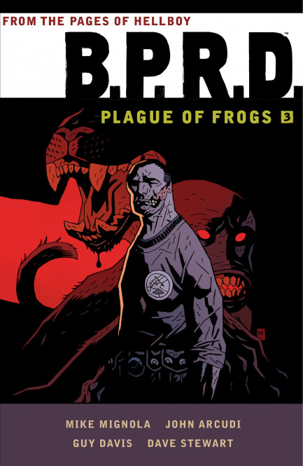 B.P.R.D. Plague of Frogs B.P.R.D: Plague of Frogs – Volume 3