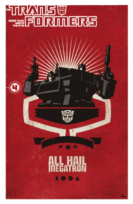 Transformers: All Hail Megatron Transformers - All Hail Megatron Vol. 4