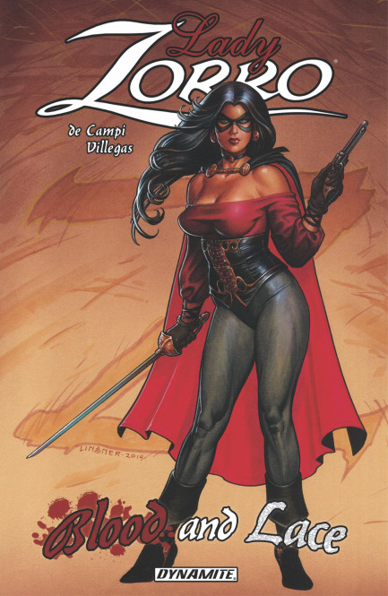 Lady Rawhide/Lady Zorro Lady Zorro: Blood And Lace