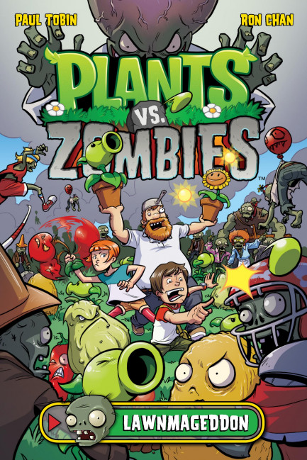 Plants vs. Zombies Plants vs. Zombies Volume 1: Lawnmageddon
