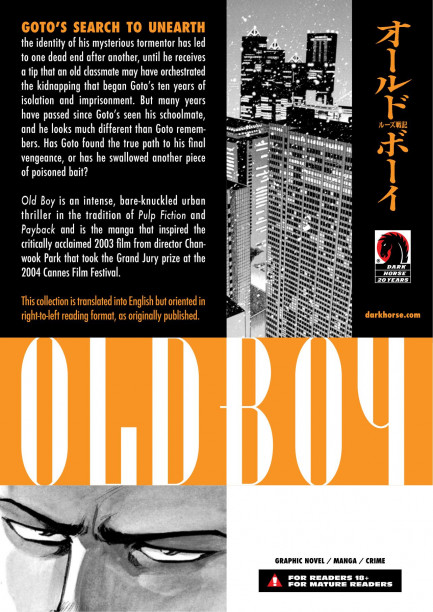 Old Boy Old Boy Volume 4