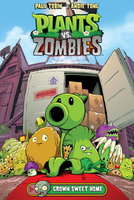 Plants vs. Zombies Plants vs. Zombies Volume 4: Grown Sweet Home