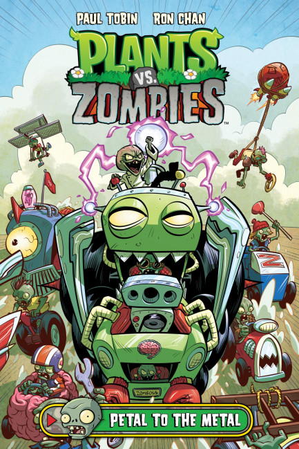Plants vs. Zombies Plants vs. Zombies Volume 5: Petal to the Metal