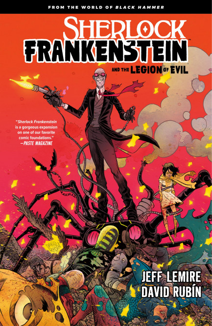 Sherlock Frankenstein Sherlock Frankenstein Volume 1: From the World of Black Hammer