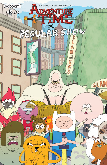 Adventure Time/Regular Show Adventure Time Regular Show #5